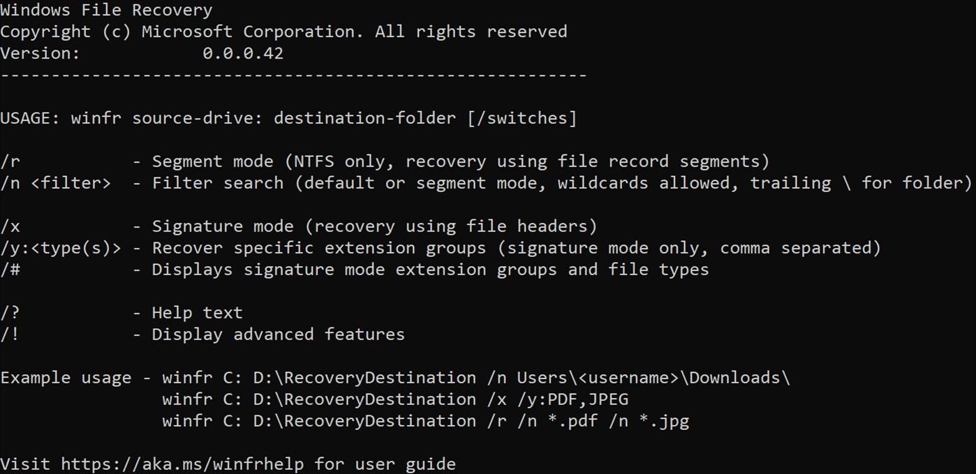 Microsoft Lanzó aplicación para Recuperar Archivos Borrados en Windows 10
